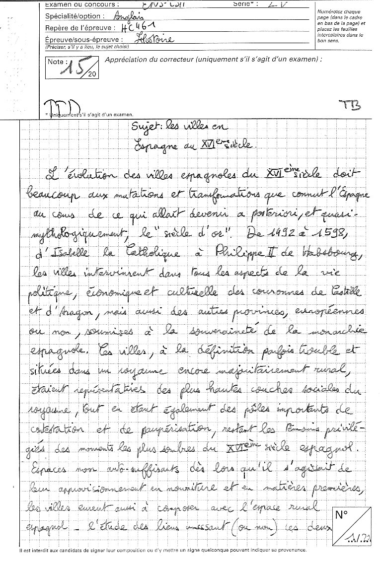 dissertation histoire khagne